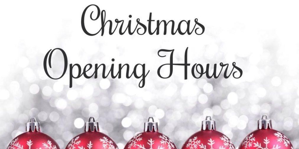 Christmas Opening!